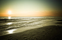 01 24 solnedgång Royaltyfria Foton