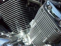 摩托车引擎01 库存照片