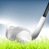01高尔夫球 免版税库存图片