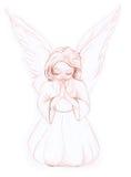 01 anioł mały Obraz Royalty Free