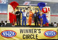01 April 2012 Winners Circle at the Strip royalty free stock image