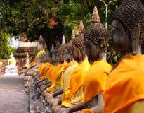 01 ayuthaya dziedzictwa watchaimongkol Obrazy Royalty Free