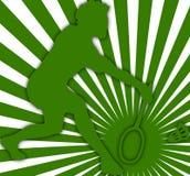 01 badminton gracza Ilustracji
