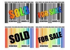 01 barcode Fotografia Stock