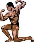 01 bodybuilder Obraz Stock