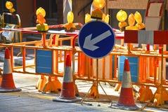 01 budowy ulica Zdjęcie Royalty Free
