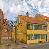 01 centre Helsingor miasteczko Fotografia Royalty Free