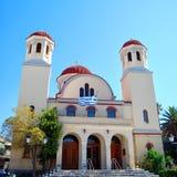 01 chania教会 库存照片