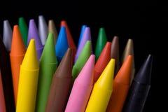 01 crayons Royaltyfria Bilder