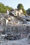 01 demolition work Στοκ Εικόνες
