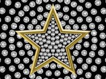 01 diamentu gwiazda ilustracji