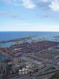 01 docks Arkivbild