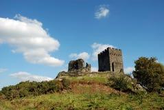 01 dolwyddelan的城堡 库存图片