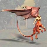 01 dragonman иллюстрация штока