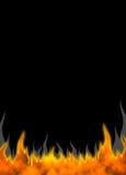 01 fire flames Στοκ Φωτογραφία