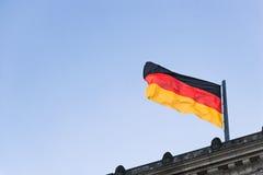 01 flagga germany Royaltyfri Fotografi