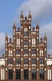 01 frontowy Germany greifswald dom stary Obraz Royalty Free