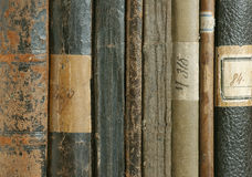01 gammala böcker Royaltyfria Foton