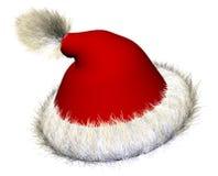 01 hatt santa Fotografering för Bildbyråer