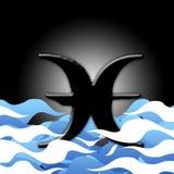 01 horoskop Ryb Obrazy Royalty Free