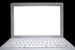01 isolerad bärbar dator Royaltyfri Foto