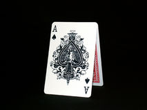 01 karty grać Obraz Stock