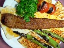 01 kebab 图库摄影