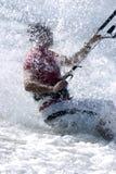 01 kitesurfer 免版税库存图片