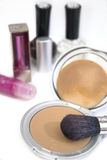 01 kosmetyków serii kobieta Obraz Royalty Free