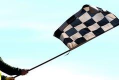01 kraciaste flagę Zdjęcie Royalty Free