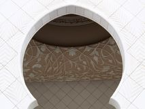 01 meczet Zdjęcia Royalty Free