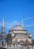 01 meczetu nuruosmaniye Zdjęcia Royalty Free