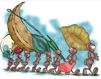 01 mrówka ilustracja wektor