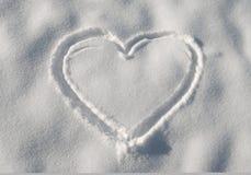 01 śnieg Zdjęcia Stock