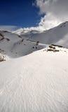 01 śnieg Lebanon Zdjęcia Royalty Free