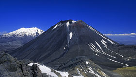 01 nya vulkan zealand Arkivbild
