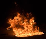 01 ogień Fotografia Royalty Free