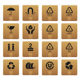01 Packaging Icons Royalty Free Stock Image