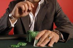 01 pokera. Zdjęcie Royalty Free