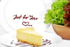 01 séries de fromage de gâteau Photo stock