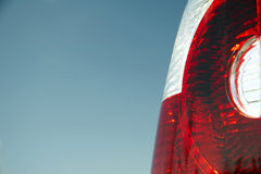 01 samochodu z powrotem światło Fotografia Stock