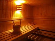 01 sauna Fotografia Royalty Free