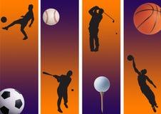 01 sportar Arkivbilder