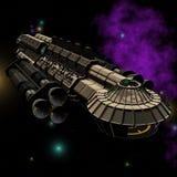 01 statku kosmicznego. Fotografia Royalty Free