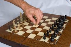 01 szachy Obraz Royalty Free