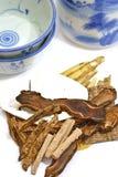 01 traditionella herbalsserie Arkivfoto