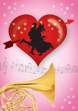 01 valentines Obrazy Royalty Free
