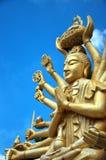 01 wielo- orężny Buddha Obrazy Stock