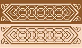 01 wzór Alhambra ilustracja wektor