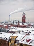 01 zima Helsingborg Obraz Royalty Free